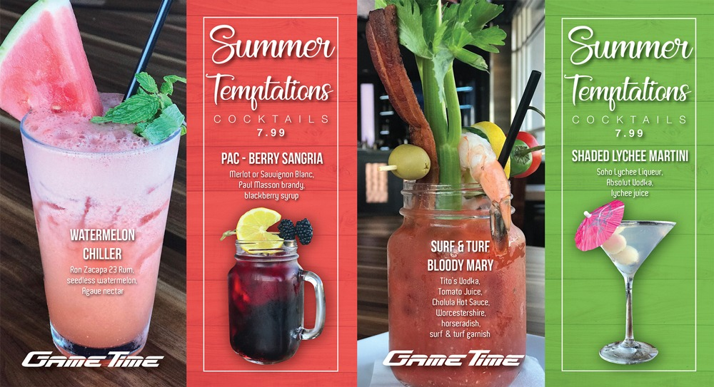 Refreshing-Summer-Temptations-cocktails-at-GameTime-florida-collage-for-WEB
