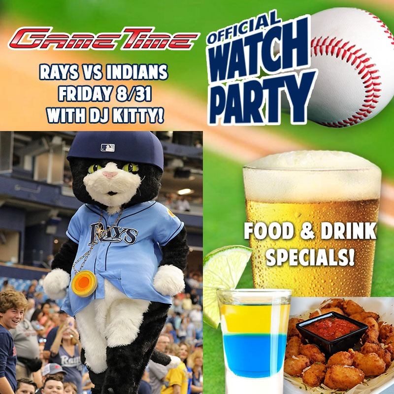 Tampa Bay Rays Watch Party at GameTime Ybor City