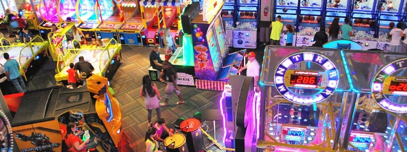 GameTime Miami, Mega Arcade, restaurant, Sports Bar, Birthday Party Venue - Hi Res