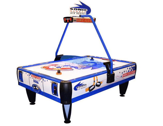 Sonic Air Hockey Allstars