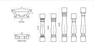 Cellular PVC Rails