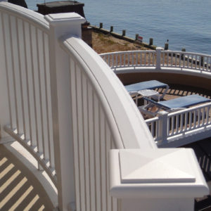 Cellular PVC Railings