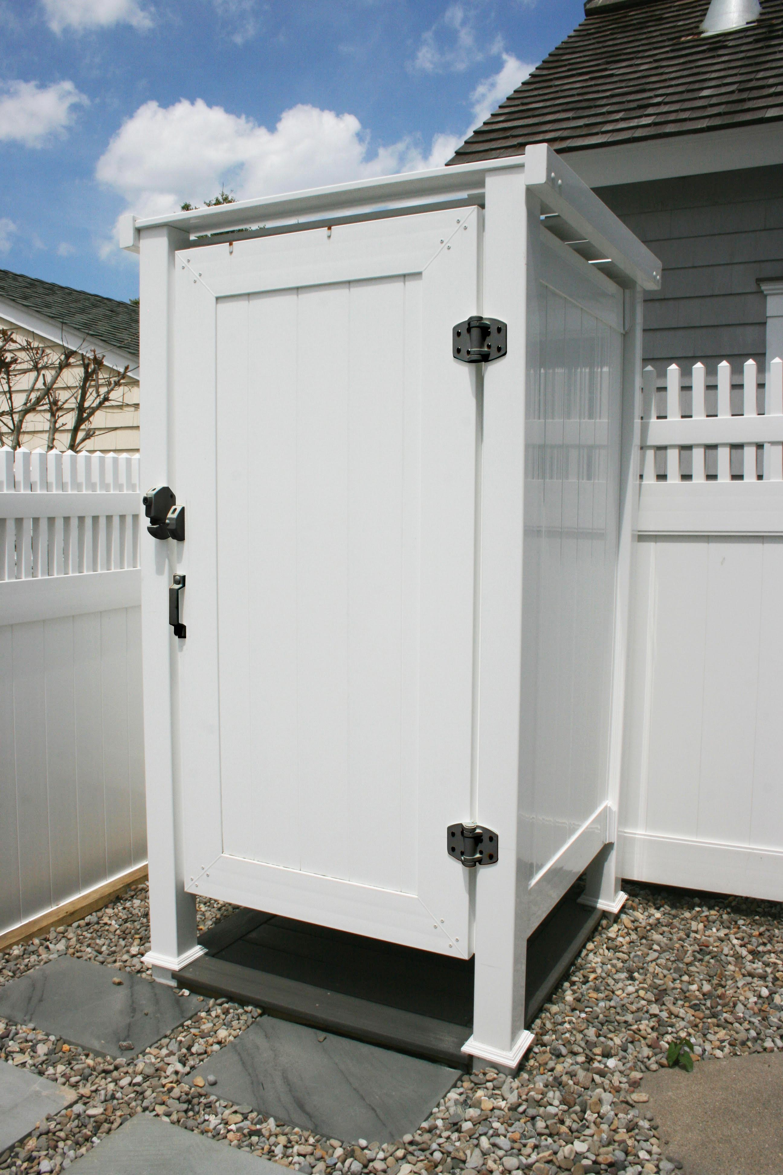 Phoenix Manufacturing Outdoor Shower Enclosure - Hardware