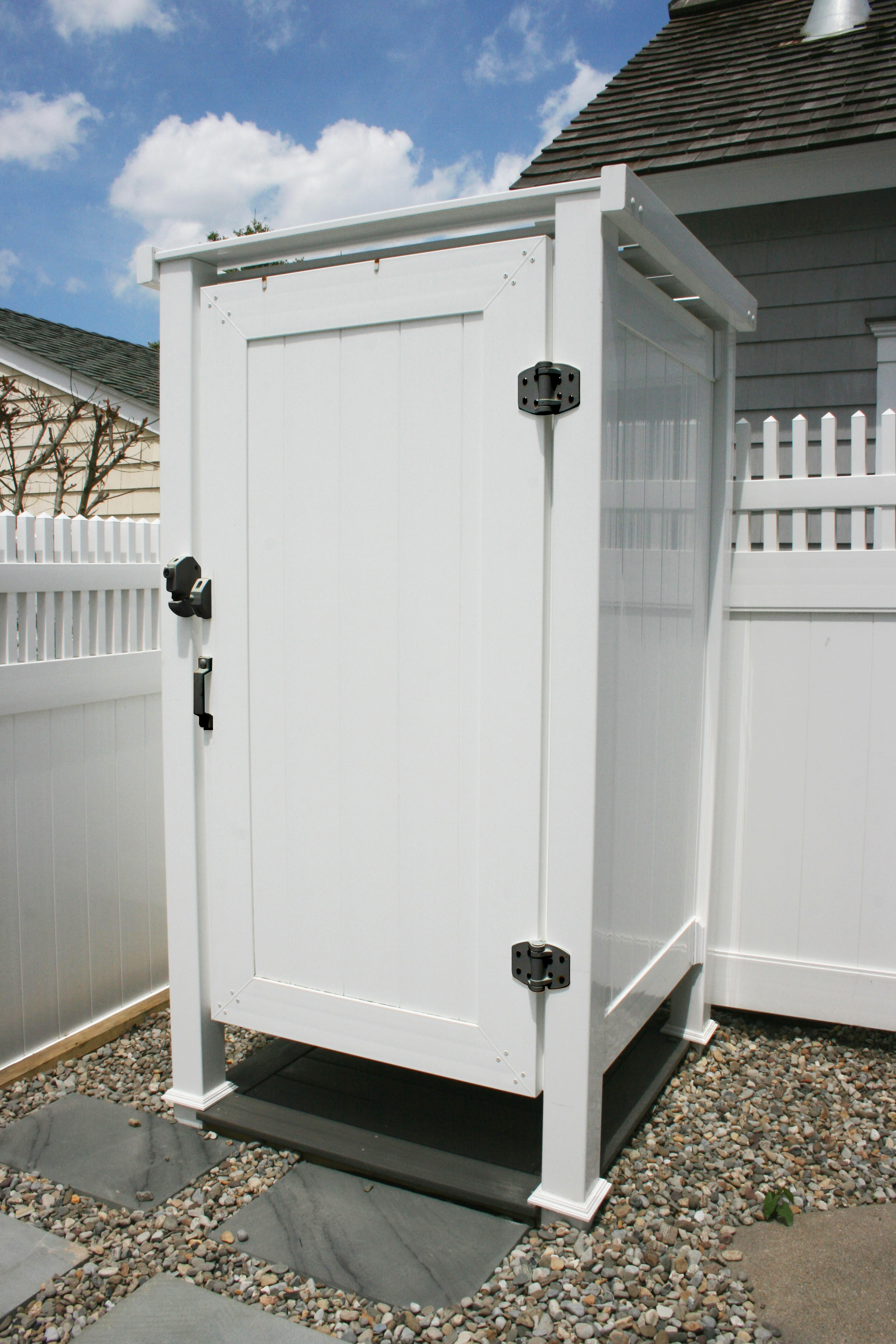 Phoenix Manufacturing Outdoor Shower Enclosure - Hardware