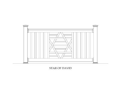 Phoenix Manufacturing Specialty Panels - Star of David
