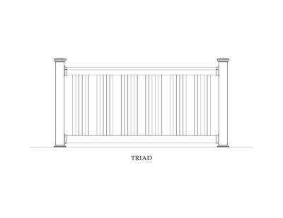 Phoenix Manufacturing Specialty Railing Designs - Triad