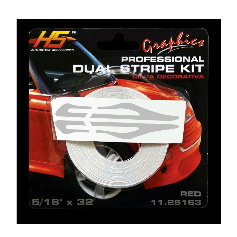 Graphics Stripe Kit, Silver