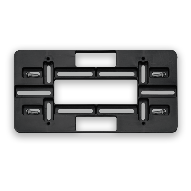 License Mounting Plate
