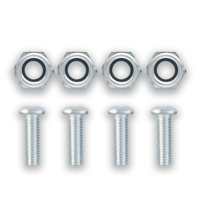 Steel and Nylon Fasteners