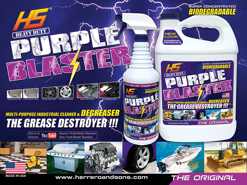 Purple Blaster Banner