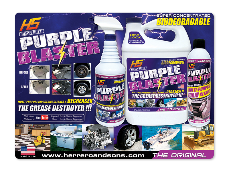 Purple Blaster Mat