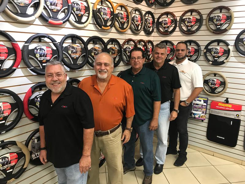 Herrero and Sons Sales Team