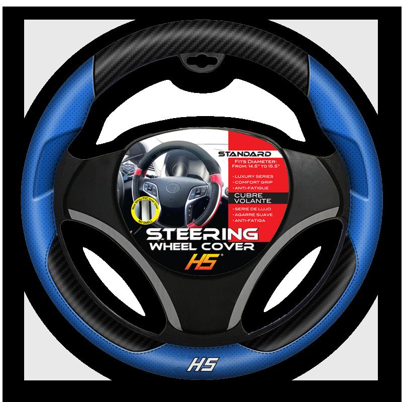 Designer Series, Blue Steering Wheel Cover