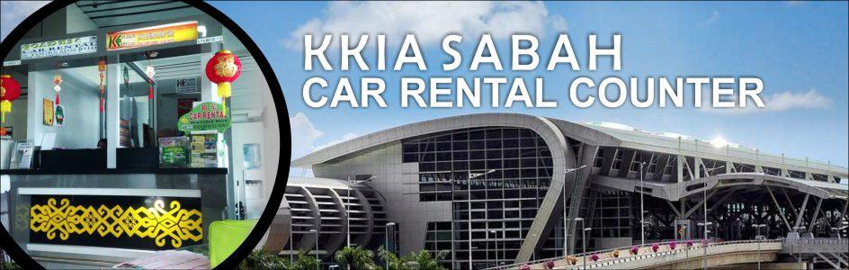 KERETA SEWA SABAH- AIRPORT COUNTER