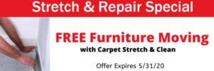 carpet re-stretching, carpet stretching Omaha