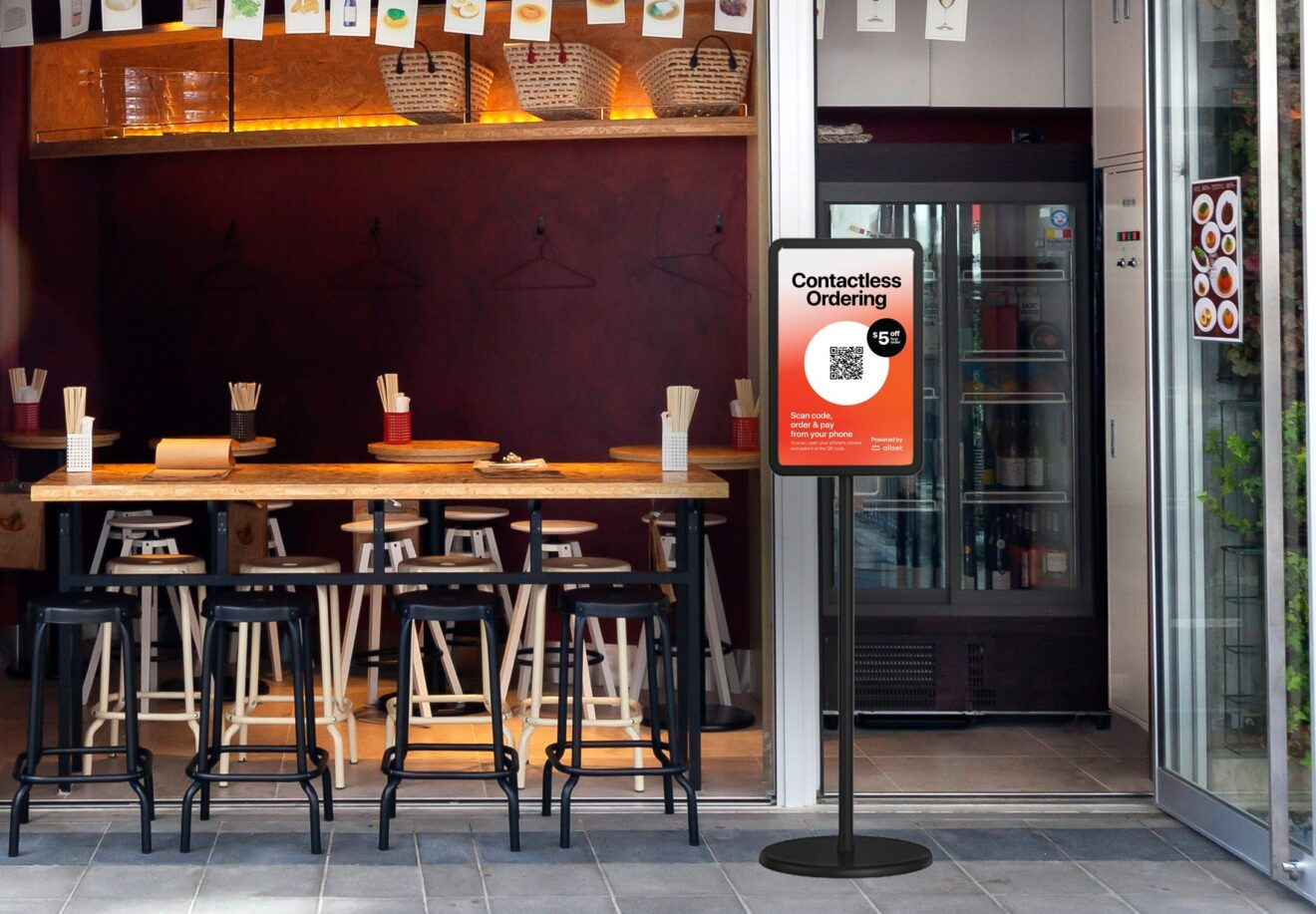 Allset Launches Free Contactless Ordering Solution for Restaurants