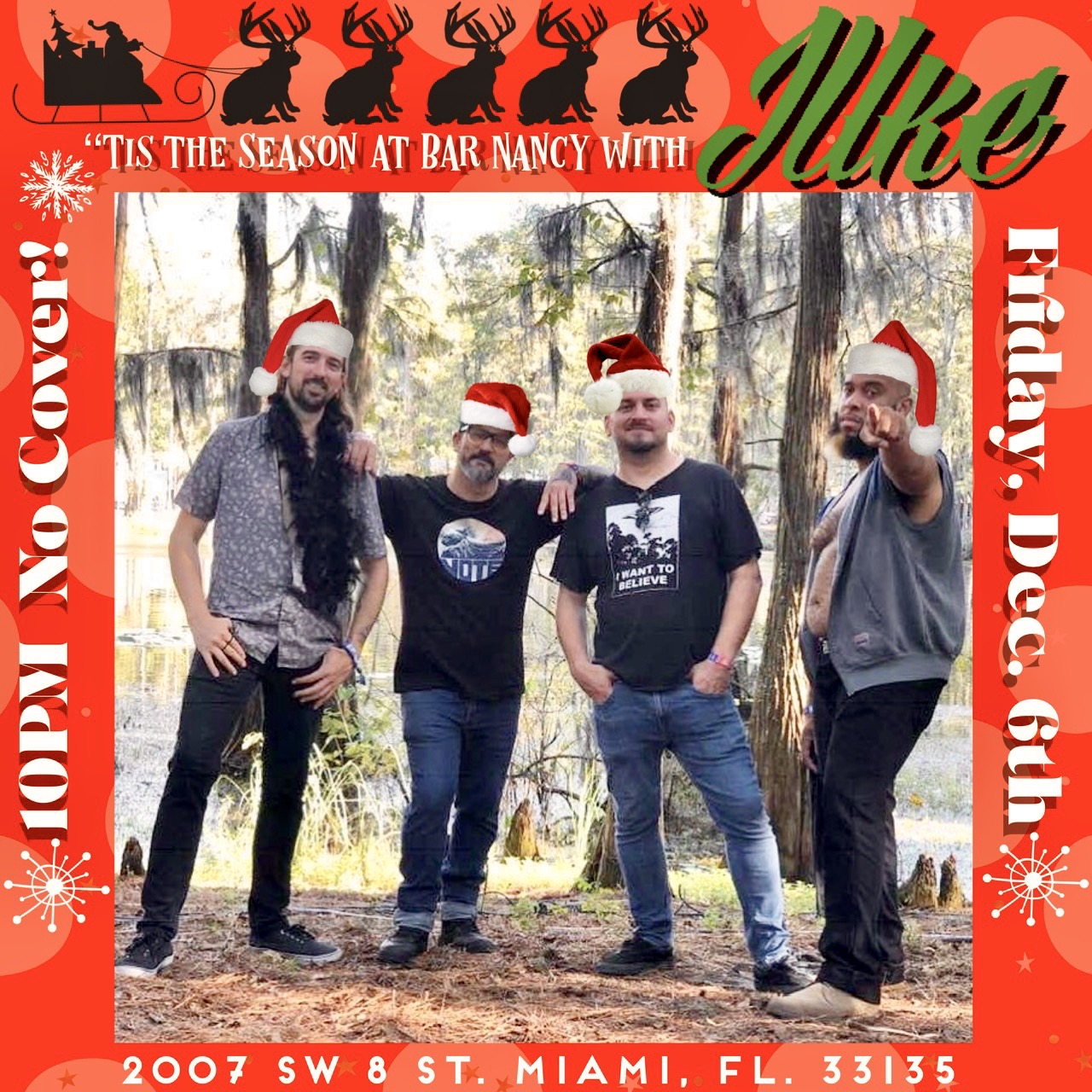Tis the Season at Bar Nancy with JUke! Performing Live! @ Bar Nancy