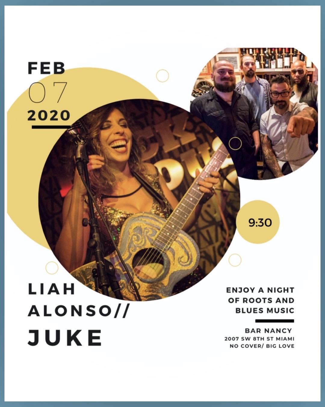 Liah Alonso / JUke! @ Bar Nancy