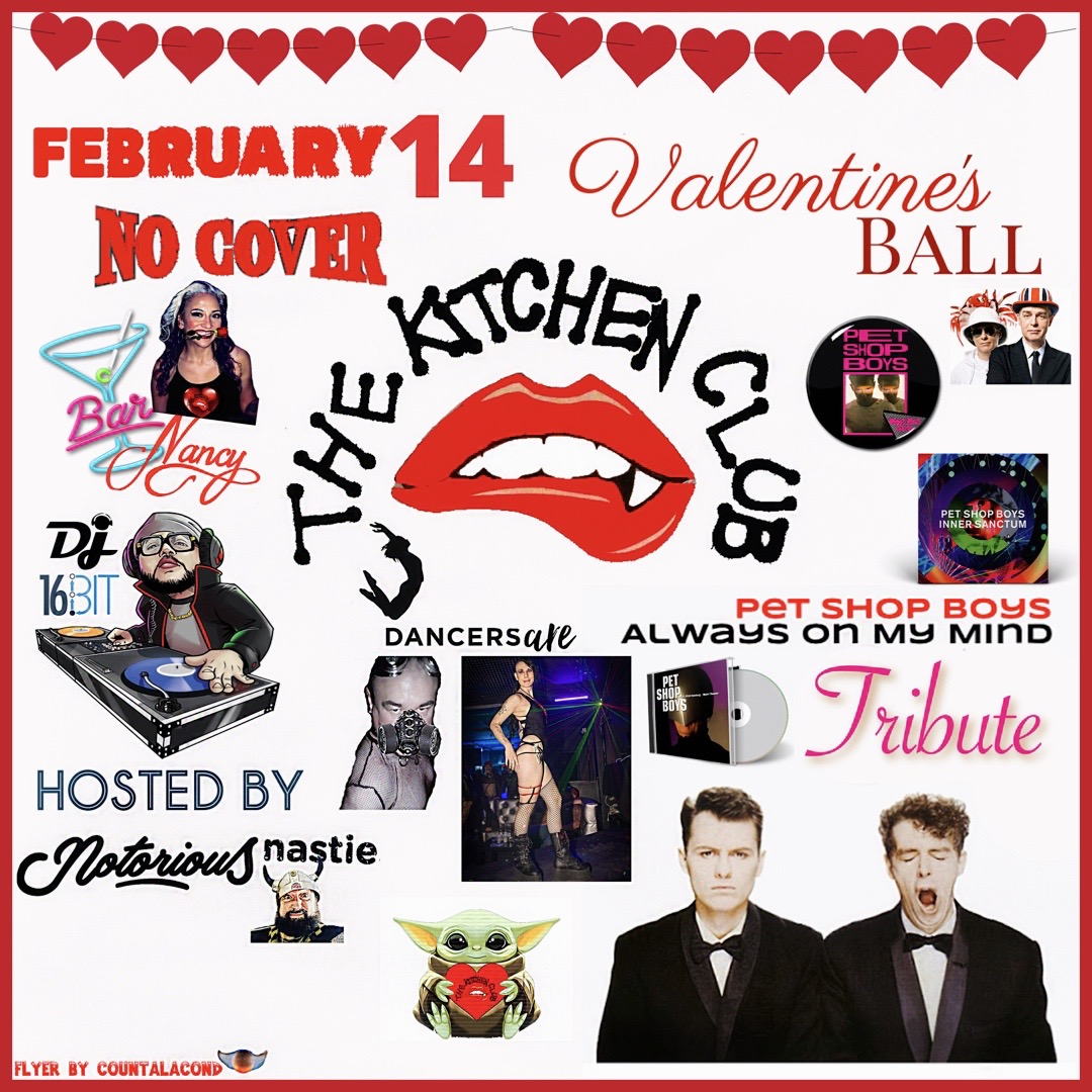 The Kitchen Club 80's New Wave Edition! Valentine's Night Ball! @ Bar Nancy