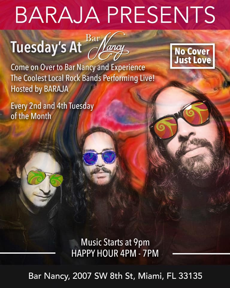 Baraja Presents Tuesdays! With Special Guests TBA!