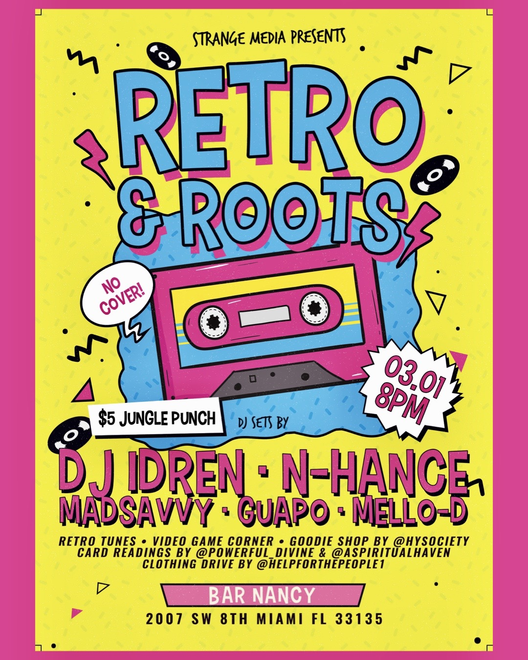 Retro And Roots! at Bar Nanc