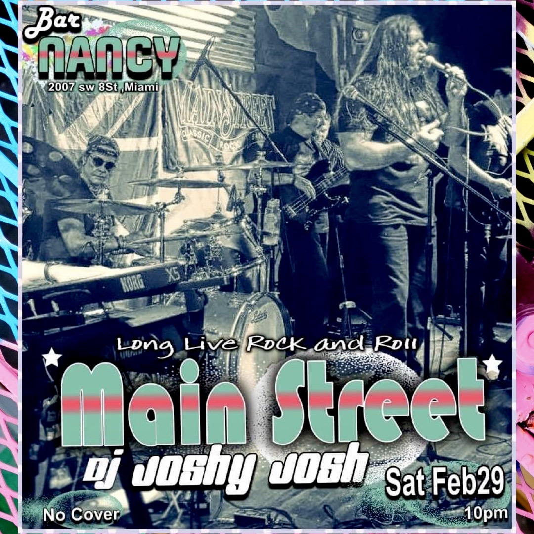 Long Live Rock & Roll with MainStreet! at Bar Nancy
