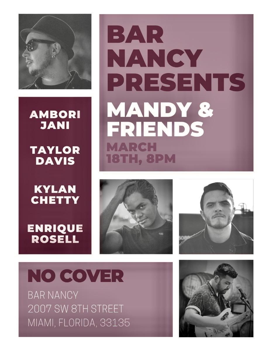 Mandy & Friends at Bar Nancy