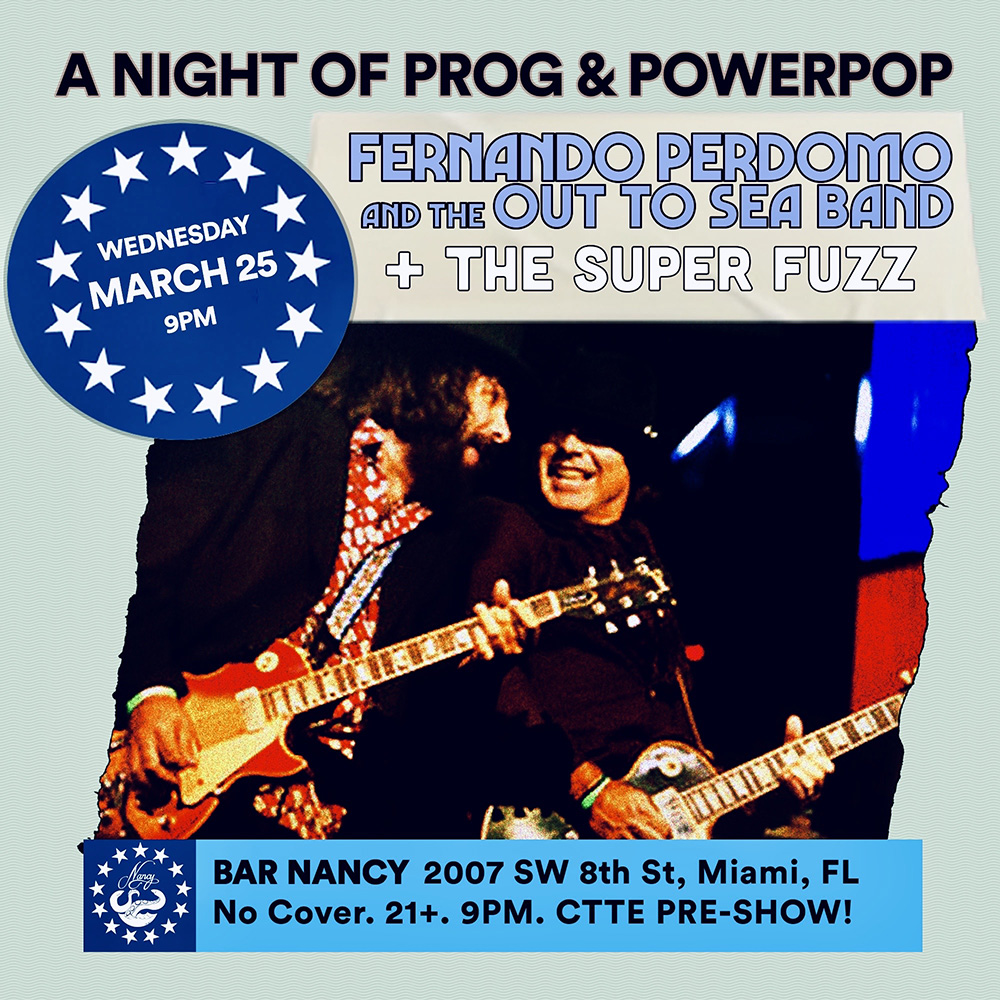 Fernando Perdomo and the Out to Sea Band! | Super Fuzz Conce