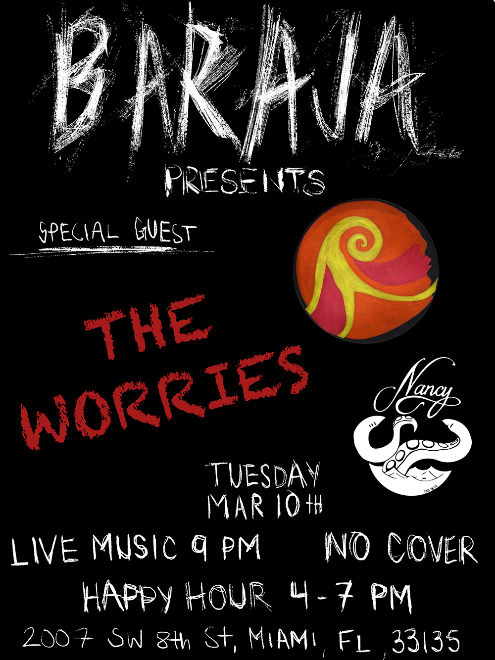 Baraja Presents Tuesdays! With Special Guests | The Worries!