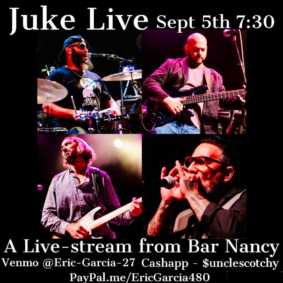 JUke! Streaming From Bar Nancy!