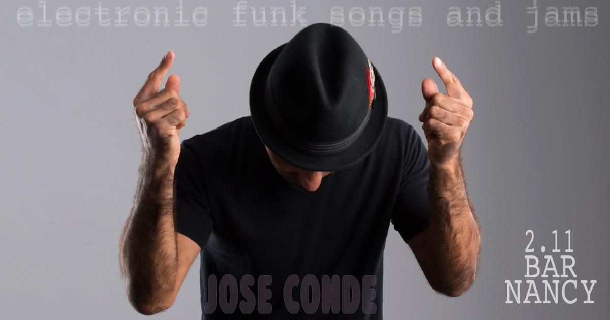 Jose Conde Solo Electric Eclectic Funk @BAR NANCY