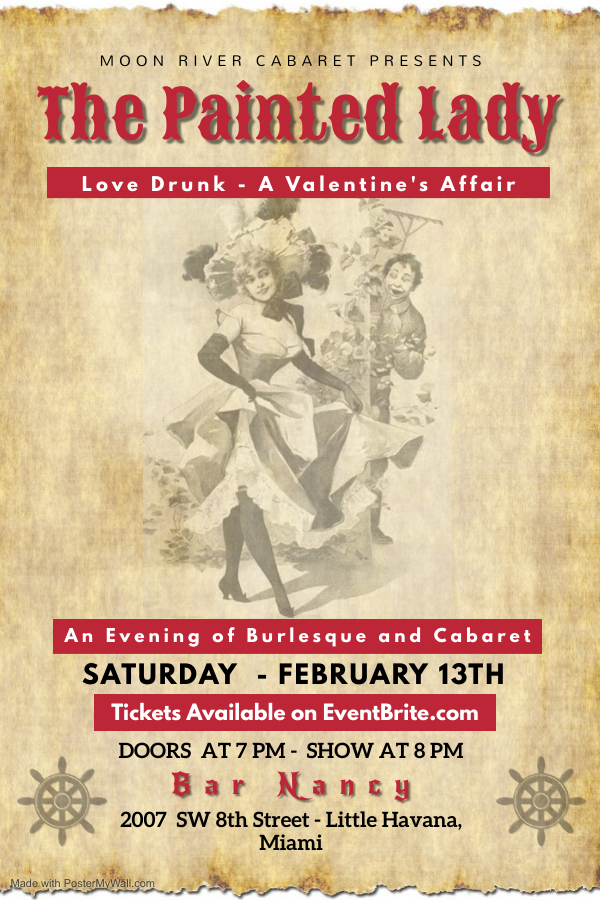 The Painted Lady at Bar Nancy - Sat Feb 13th. Doors open at 7 PM