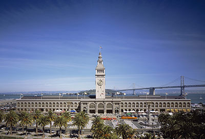 ferry building, architecture, adaptive reuse