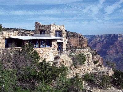 national parks grand canyon, lookout studio, desert view watchtower