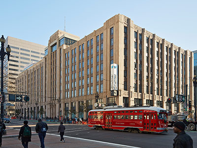 market square, twitter building, san francisco