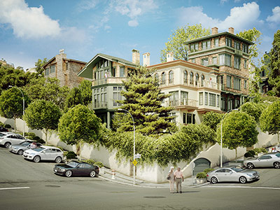 wysteria residences russian hill