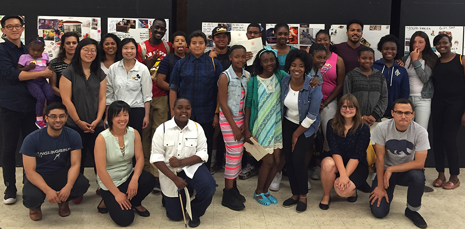 Oakland Youth Architecture Camp Group Photo
