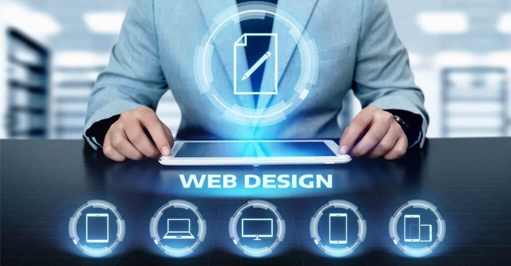 Website design image and elements