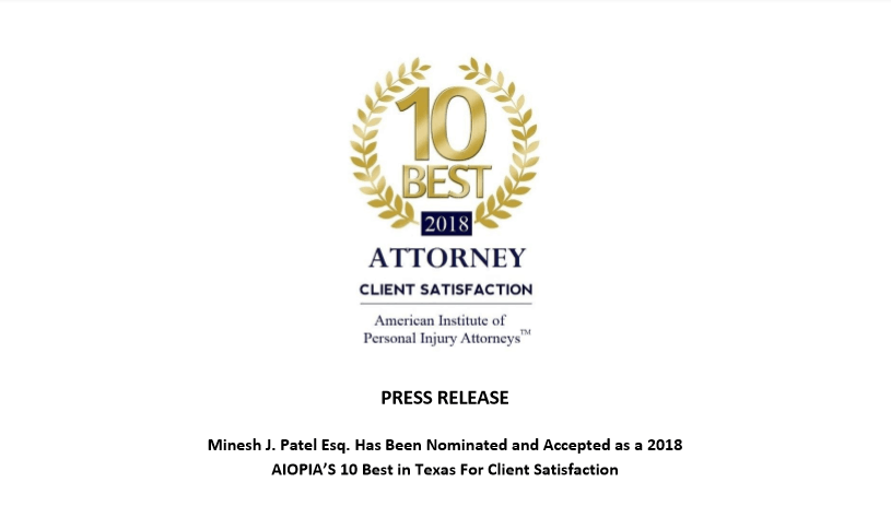 Corpus Christi Personal Injury Attorney Dallas Personal Injury Attorney The Patel Firm PLLC