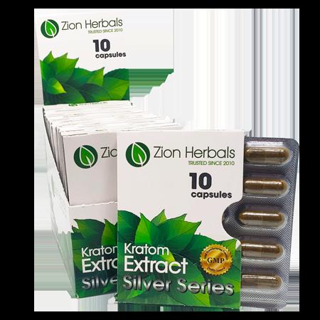 Zion Herbals silver series