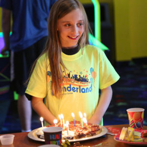 Awesome Birthday Party Cake Wonderland Spokane Wonderland Family Fun Center Funny Birthday Cards Online Chimdamsfinfo