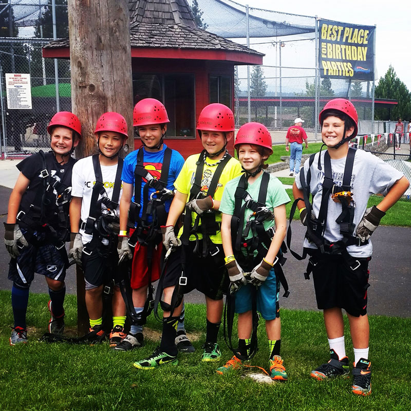 Zipline Group Wonderland Spokane