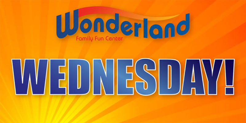 Wednesday Special at Wonderland