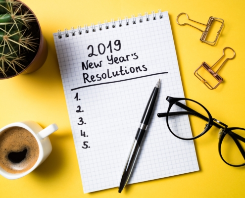 News: New Year's Resolution