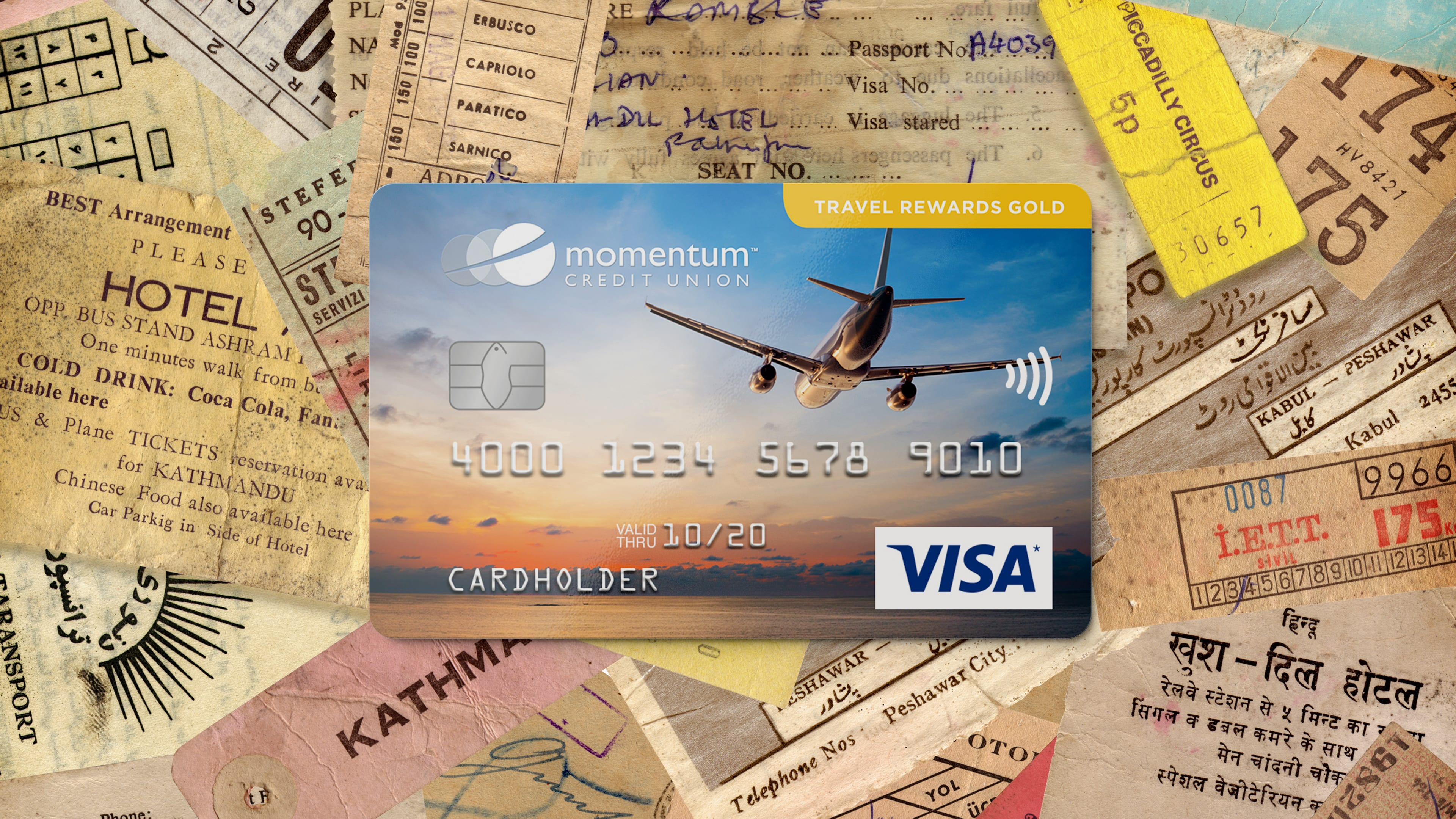 Momentum Visa Travel Rewards Gold