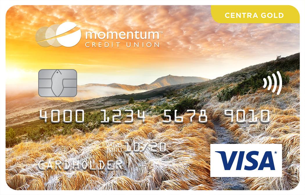 Momentum Visa Centra Gold Card