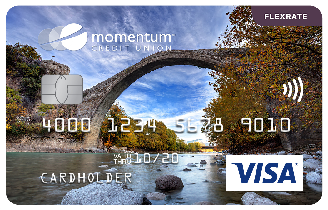 Momentum Visa FlexRate Card