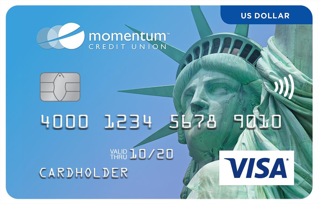 Momentum Visa US Dollar Card