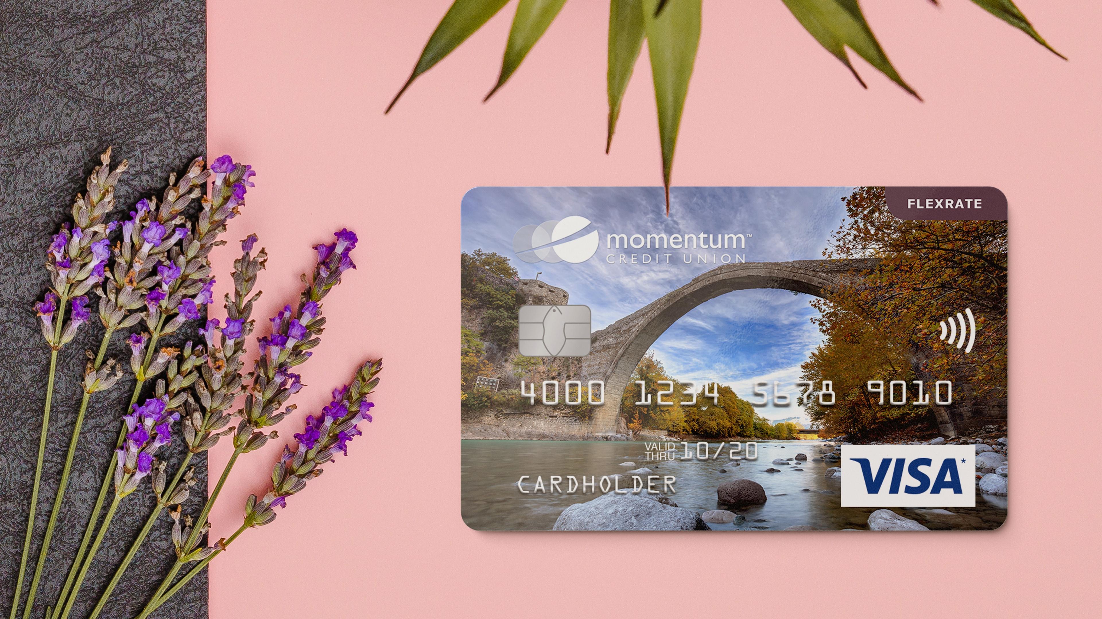 — Momentum Visa FlexRate Card
