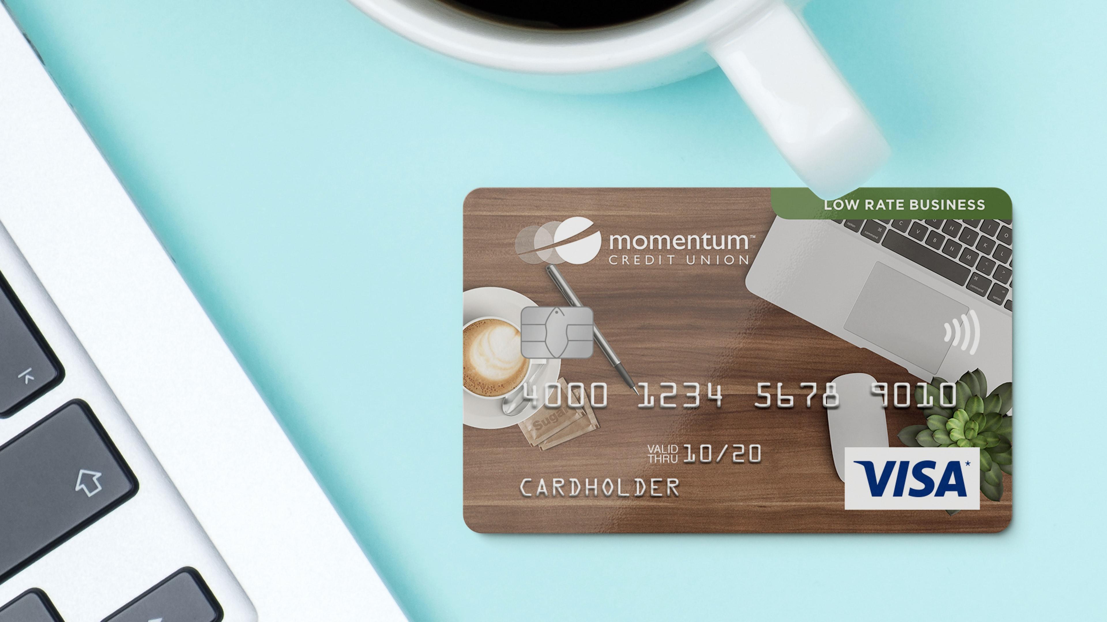 Momentum Visa Low Rate Business